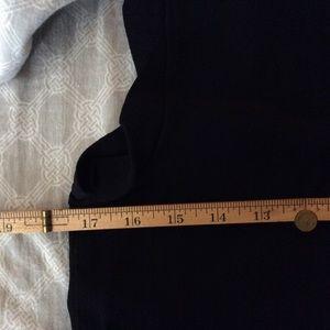 Esley Tops - Esley Large Black Sheer Sleeveless Blouse Top